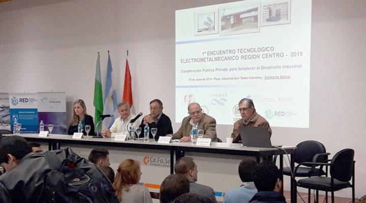 Encuentro de vinculación tecnológica con el sector electrometalmecánico
