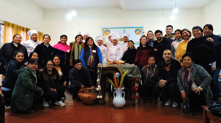 """Se realizaron las """"Jornadas para la revalorización de saberes, prácticas culinarias y cultivos andinos"""" en La Quiaca"""