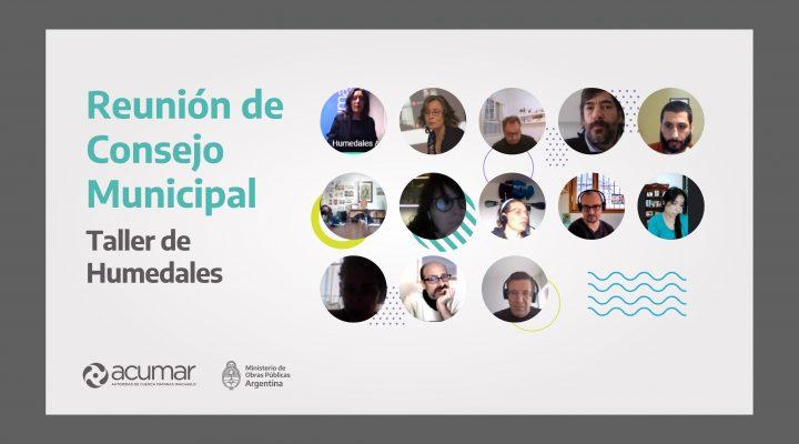 Investigadores del CONICET brindaron un taller sobre el inventario de humedales de la Cuenca Matanza-Riachuelo a municipios